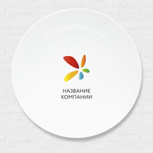 тарелка с изображением