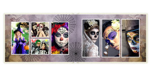 Photobook Romantic Halloween	30x20 sm