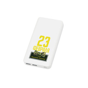 PowerBank белый №28