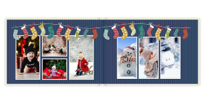 Photobook Happy snowmen	 30x20 sm