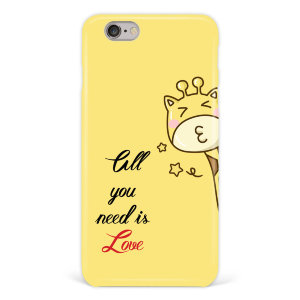 "Чехол для iPhone 6 ""All you need is love"" №125"