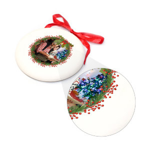 Christmas-tree decoration handmade