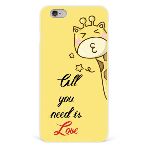 "Чехол для iPhone 6 plus ""All you need is love"" №97"