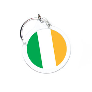 Trinket with an Ireland flag D31 mm №16
