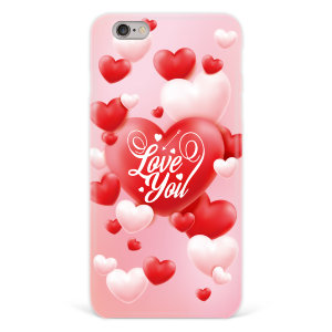 "Чехол для iPhone 6 plus ""Love you"" №99"