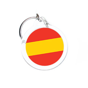 Trinket with a Spain flag D31 mm №18