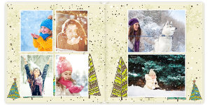Photobook Christmas madness 30x30 sm