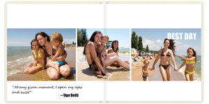 Photobook Happy days 30x30 sm