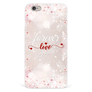 "Чехол для iPhone 6 plus ""Forever love you"" №106"