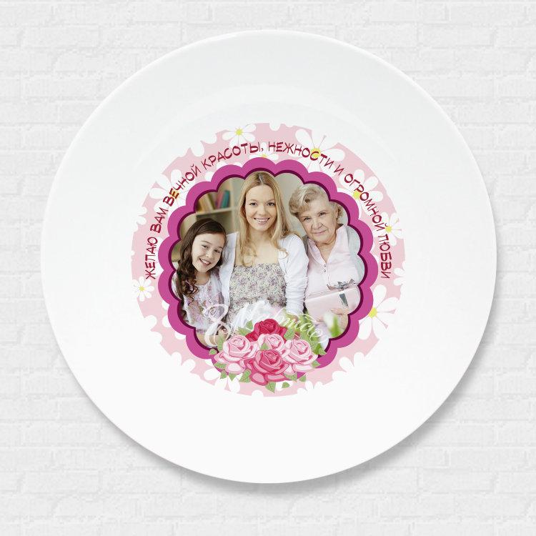 один самых фотопечать на тарелках с полным заполнением ценителей спокойных, неброских