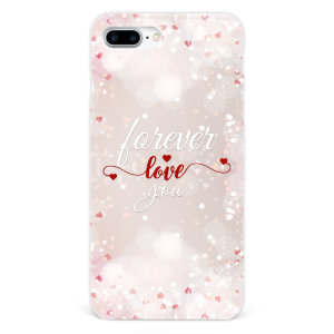 "Чехол для iPhone 7 plus ""Forever love you"" №107"