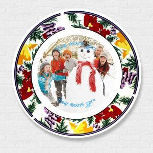 изображение на тарелке